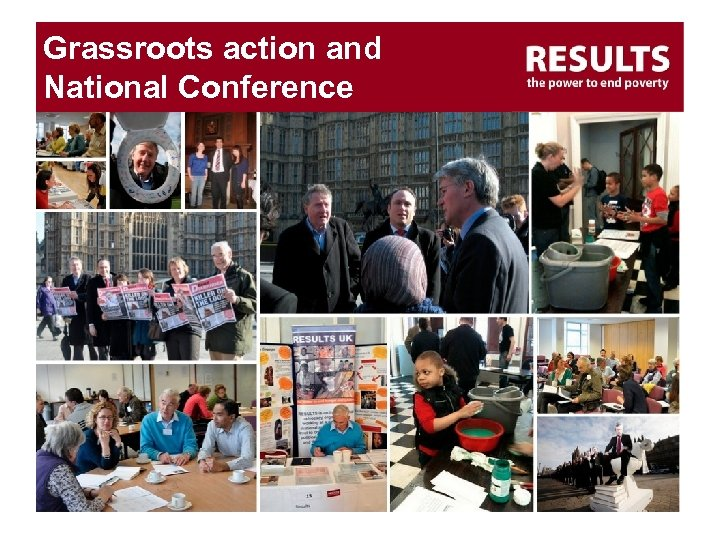 Grassroots action and National Conference