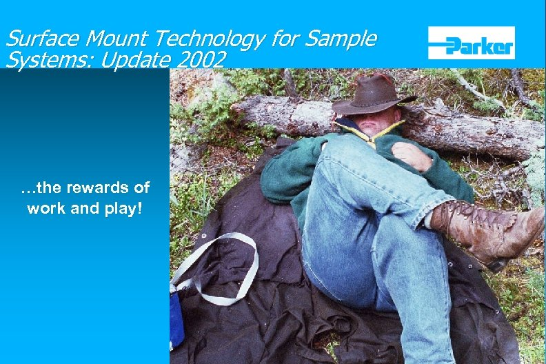 Surface Mount Technology for Sample Systems: Update 2002 …the rewards of work and play!