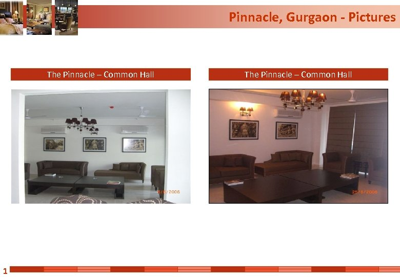 Pinnacle, Gurgaon - Pictures The Pinnacle – Common Hall 1 The Pinnacle – Common