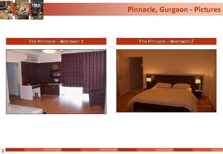 Pinnacle, Gurgaon - Pictures The Pinnacle – Bedroom 1 1 The Pinnacle – Bedroom