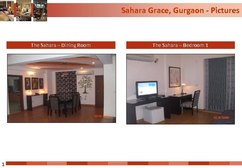 Sahara Grace, Gurgaon - Pictures The Sahara – Dining Room 1 The Sahara –