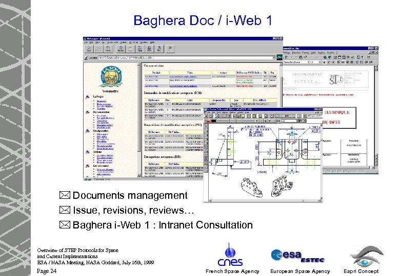 Baghera Doc / i-Web 1 * Documents management * Issue, revisions, reviews… * Baghera