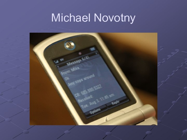 Michael Novotny