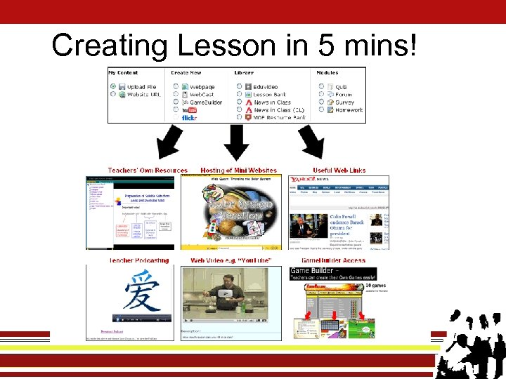 Creating Lesson in 5 mins!