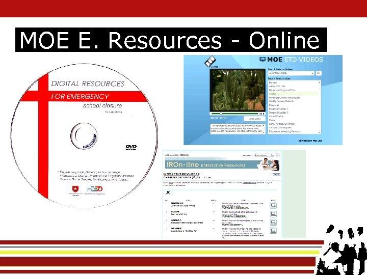 MOE E. Resources - Online