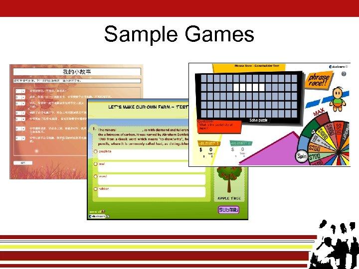 Sample Games