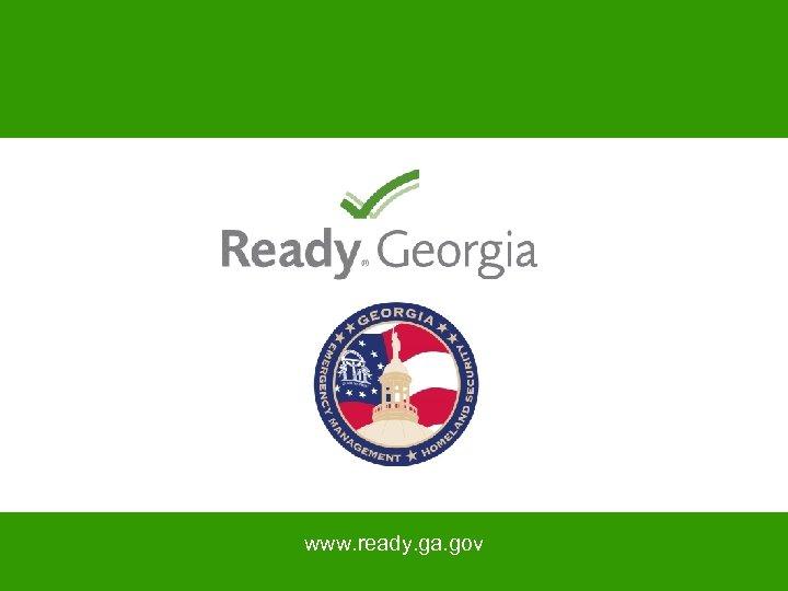 www. ready. ga. gov