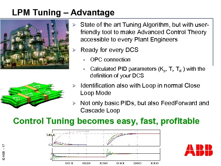 LPM Tuning – Advantage Ø State of the art Tuning Algorithm, but with userfriendly