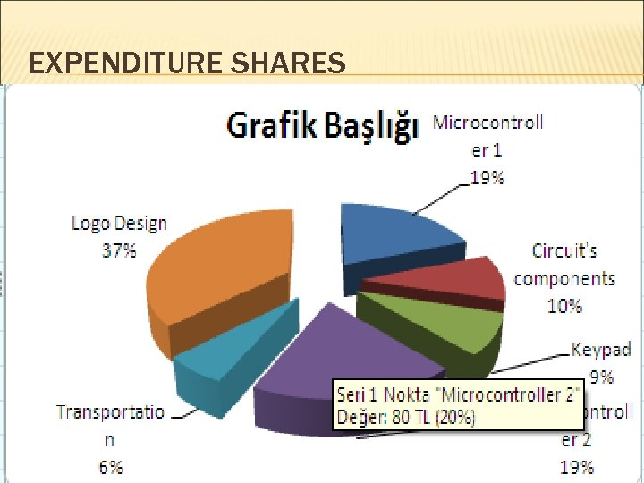 EXPENDITURE SHARES