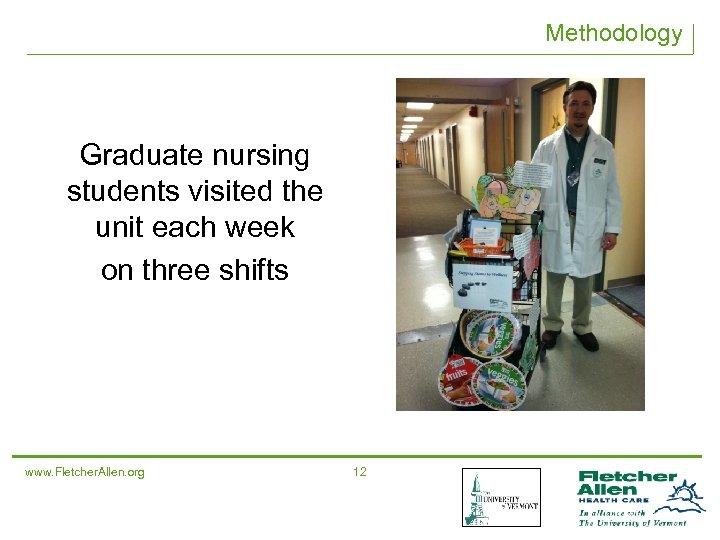 Methodology Graduate nursing students visited the unit each week on three shifts www. Fletcher.