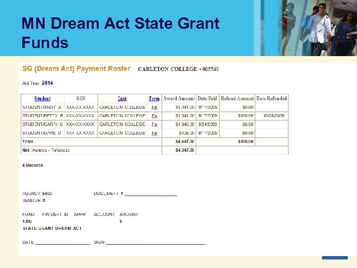 MN Dream Act State Grant Funds