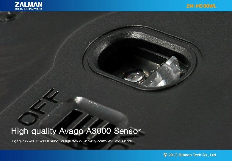 ZM-M 500 WL High quality Avago A 3000 Sensor High quality AVAGO A 3000