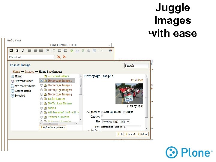 Juggle images with ease