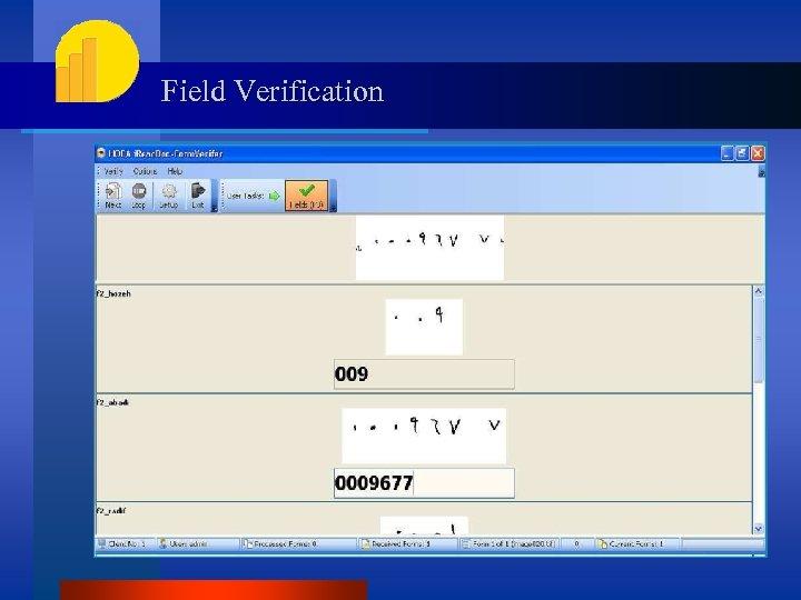 Field Verification