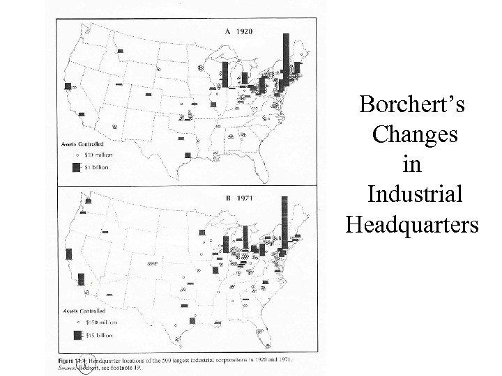 Borchert's Changes in Industrial Headquarters