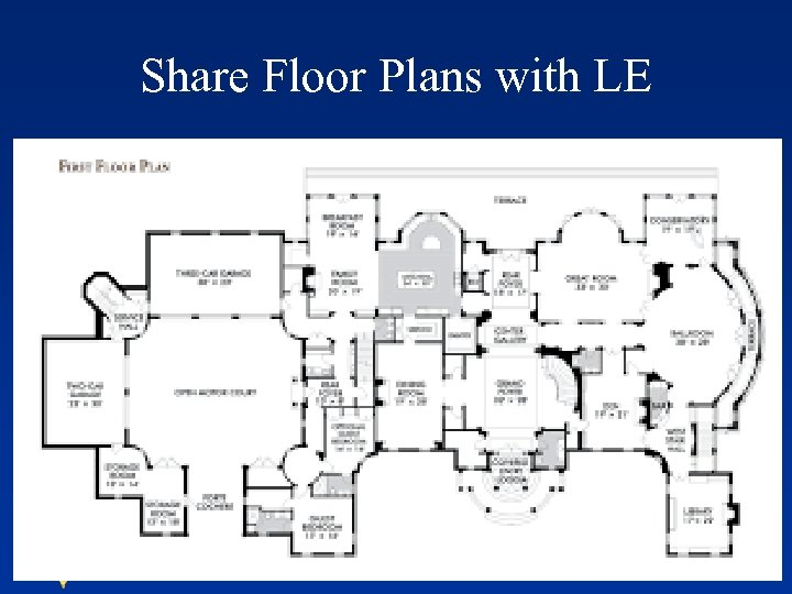 Share Floor Plans with LE