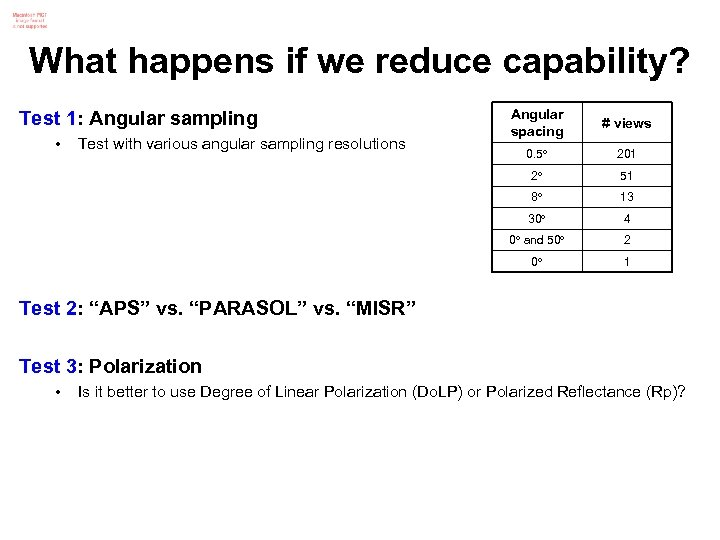 What happens if we reduce capability? 0. 5 201 51 13 30 4 0