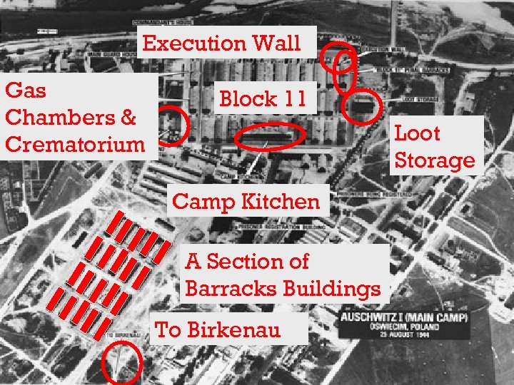 Execution Wall Gas Chambers & Crematorium Block 11 Loot Storage Camp Kitchen A Section