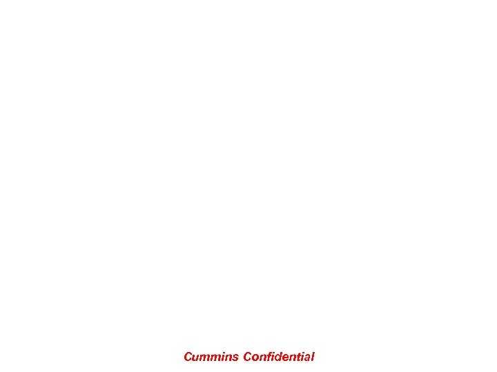 Cummins Confidential