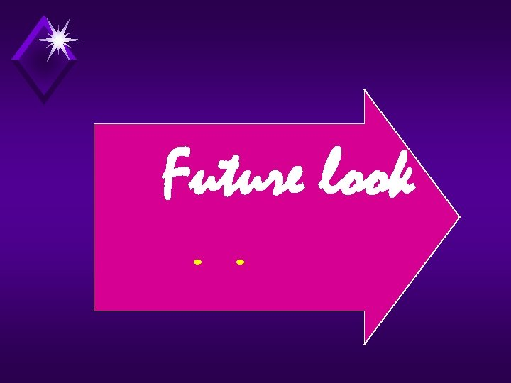 Future look. .