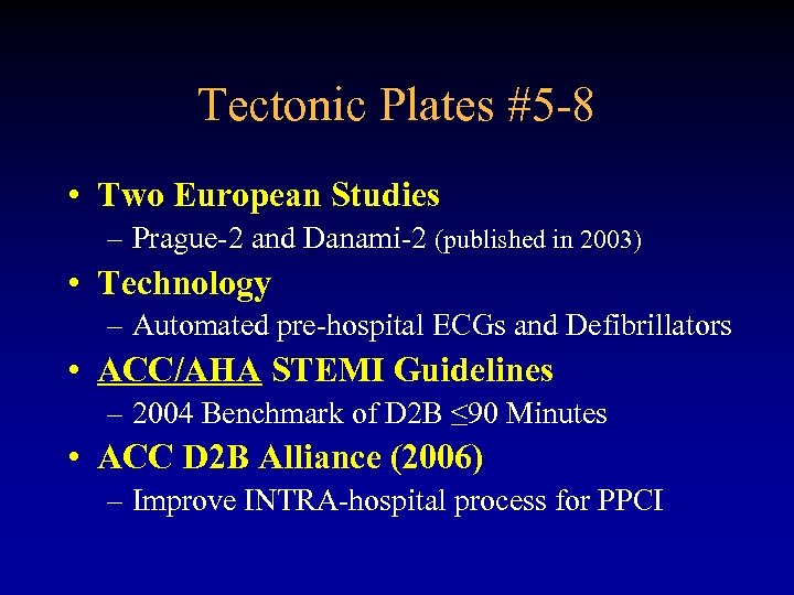 Tectonic Plates #5 -8 • Two European Studies – Prague-2 and Danami-2 (published in