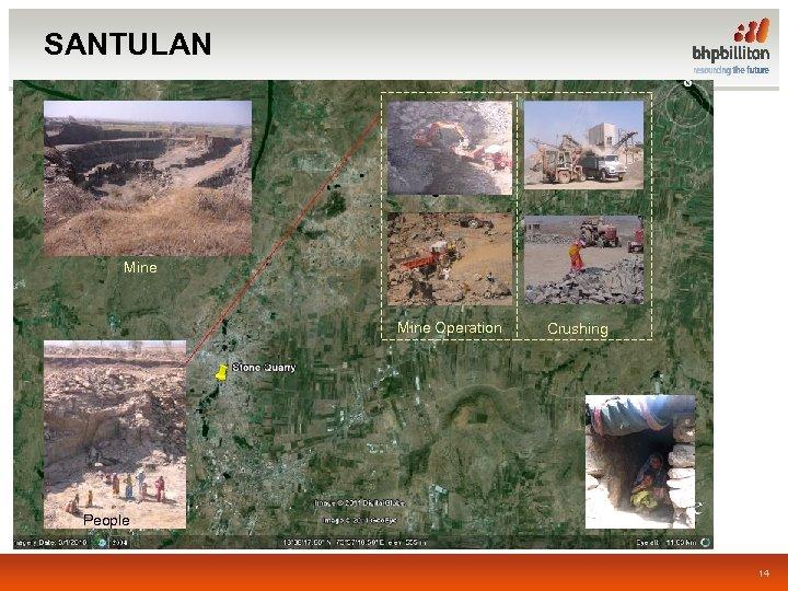 SANTULAN Mine Operation Crushing People 14