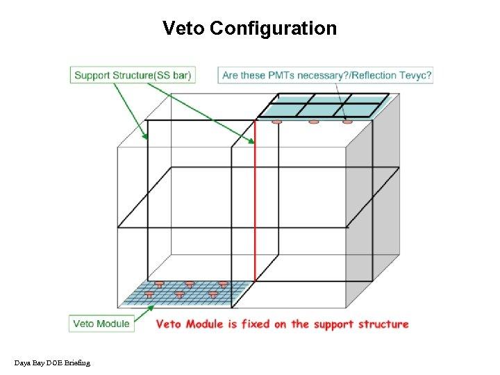 Veto Configuration Daya Bay DOE Briefing