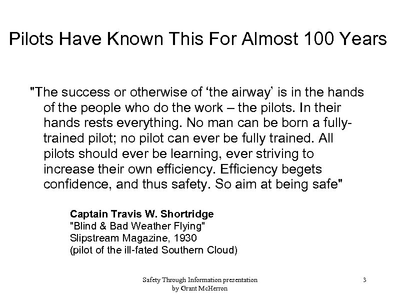 Pilots Have Known This For Almost 100 Years
