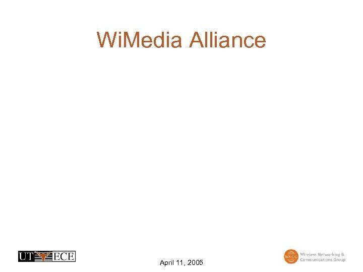 Wi. Media Alliance April 11, 2005