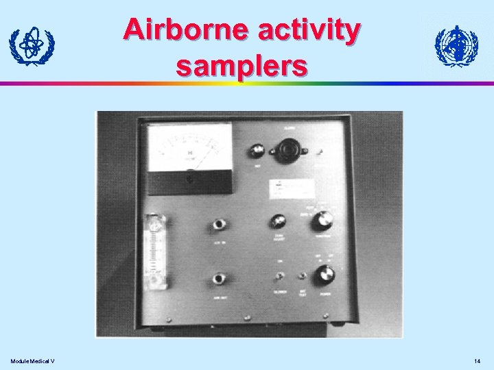 Airborne activity samplers Module Medical V 14