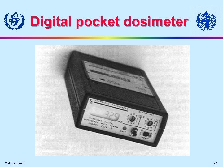 Digital pocket dosimeter Module Medical V 27