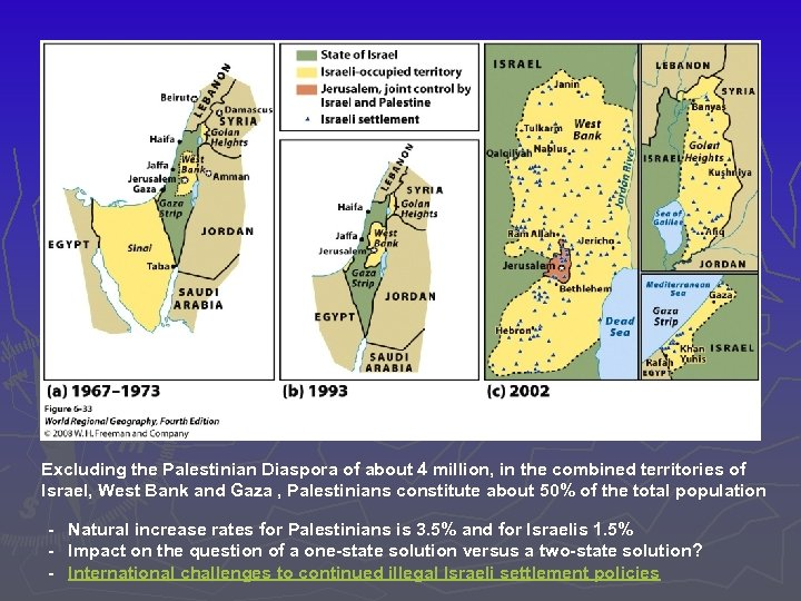 a study of the palestinian and israeli conflict Despite israel's ratification of the iccpr and its guarantee to protect all of its citizens against discrimination, palestinian arab citizens in israel are discriminated against in a variety of forms and denied equal individual rights because of their national belonging.