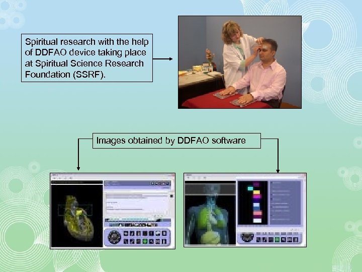 Spiritual research with the help of DDFAO device taking place at Spiritual Science Research