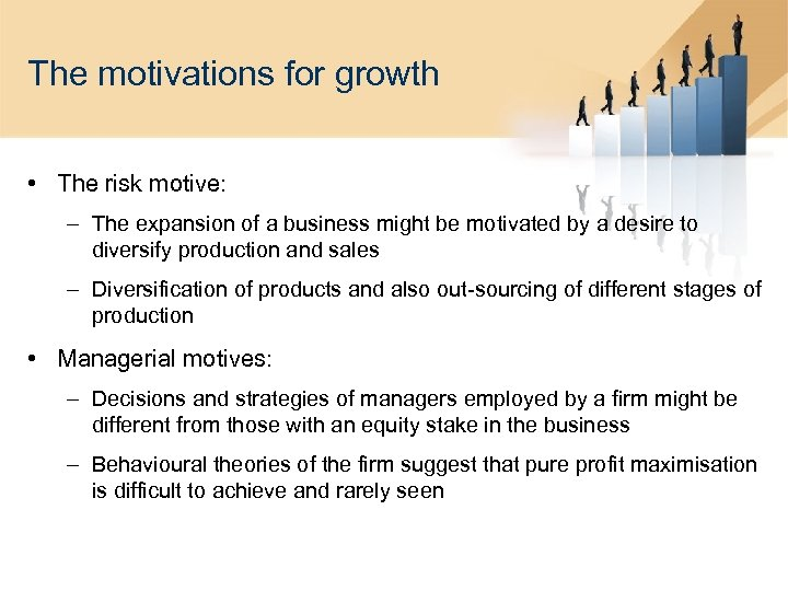 substantive growth limited growth or retrenchment Limited growth strategies the different approaches market penetration market development market development is based upon entry to new markets or to new segments of existing markets while employing existing products.