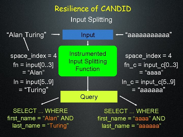 """Resilience of CANDID Input Splitting """"Alan Turing"""" space_index = 4 fn = input[0. ."""