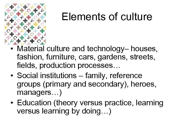 Elements Of Culture  E2 80 A2 Material Culture And Technology Houses Fashion Furniture Cars