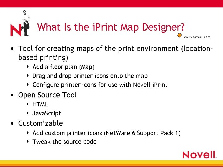 What Is the i. Print Map Designer? • Tool for creating maps of the