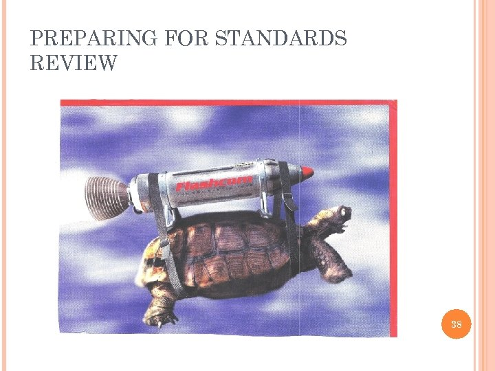 PREPARING FOR STANDARDS REVIEW 38