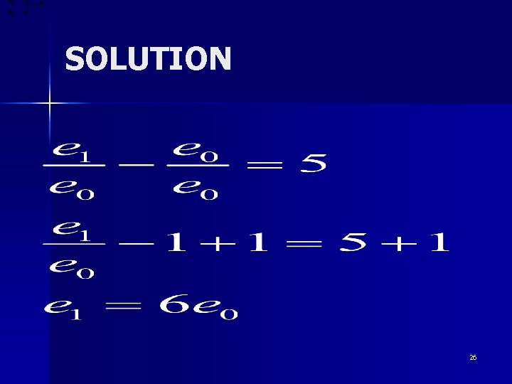 SOLUTION 26