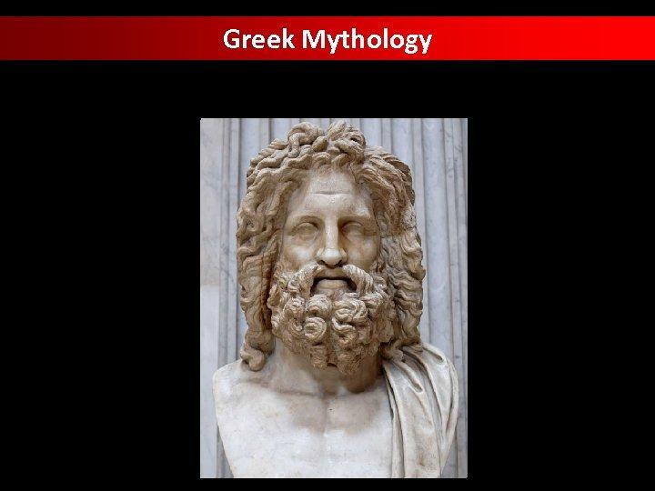 Greek Mythology Classification 3/18/2018 2