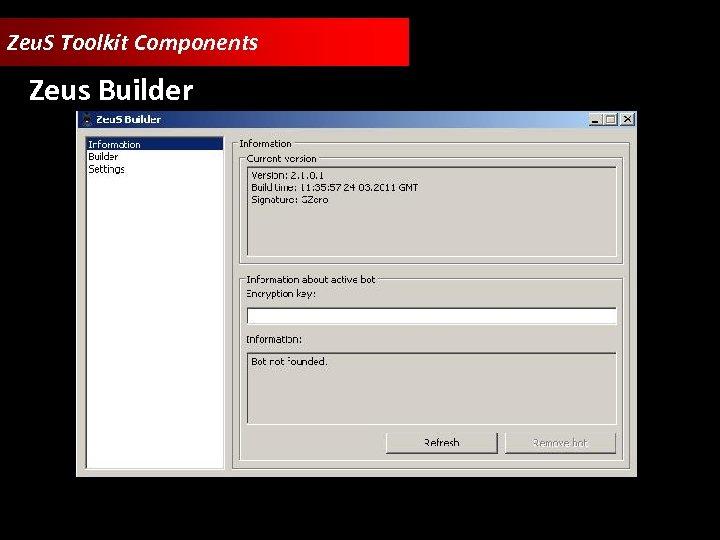 Zeu. S Toolkit Components Zeus Builder