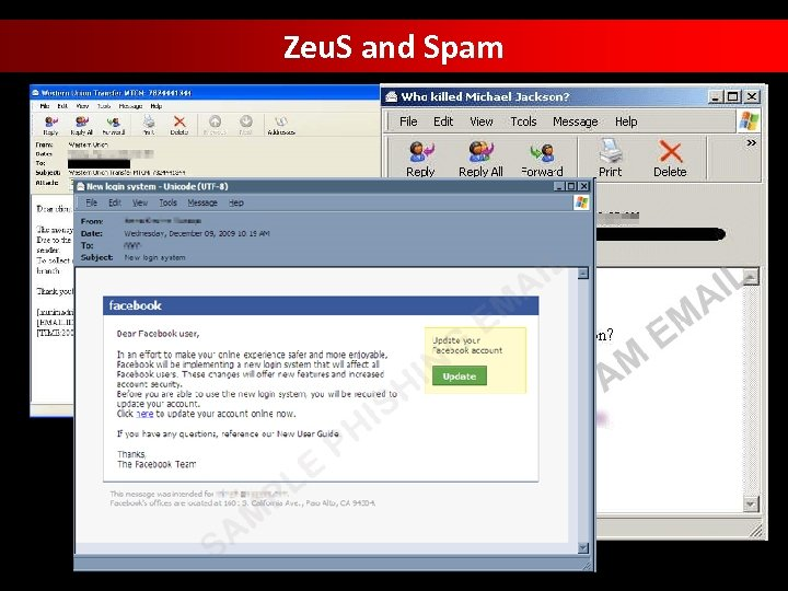Zeu. S and Spam