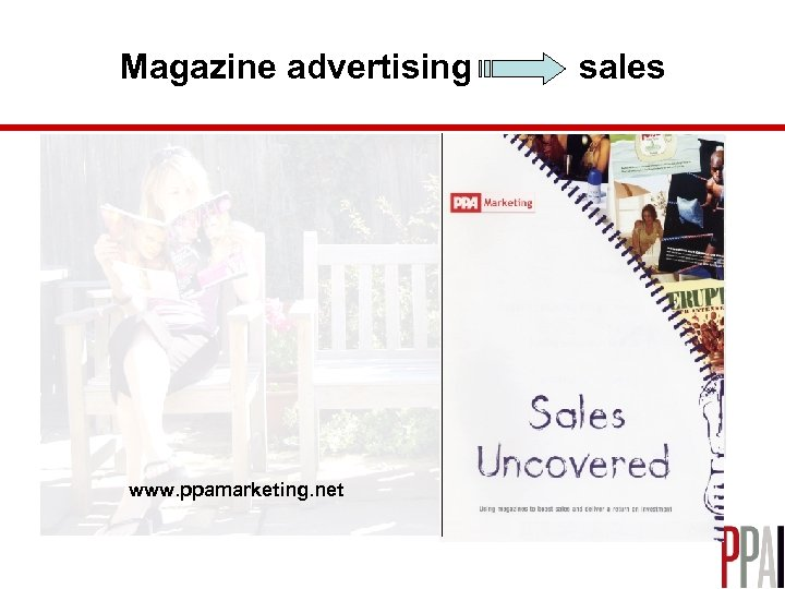 Magazine advertising www. ppamarketing. net sales