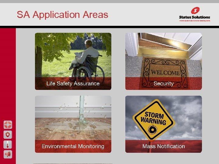 SA Application Areas