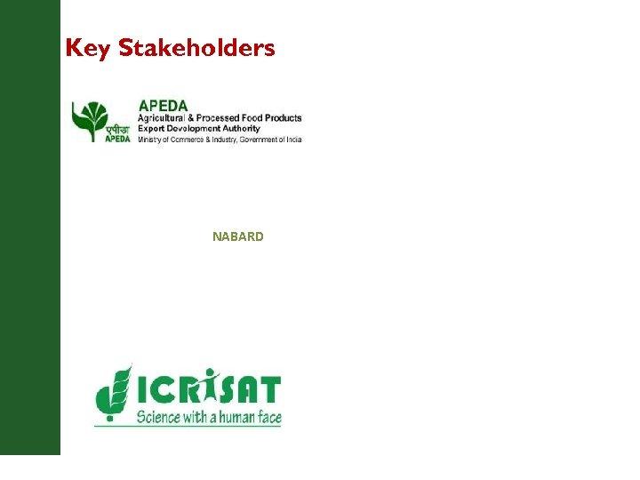 Key Stakeholders NABARD