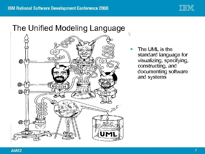 The Unified Modeling Language § The UML is the standard language for visualizing, specifying,