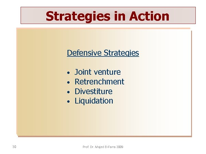 retrenchment strategies type essay Types of strategies:diversification strategies, conglomerate diversification strategic management business management.