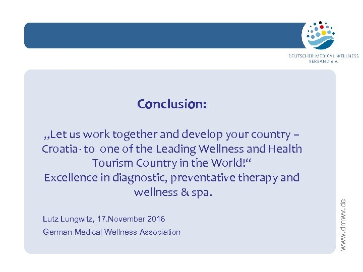 """network """"Let us work together and develop your country – Croatia- to one of"""