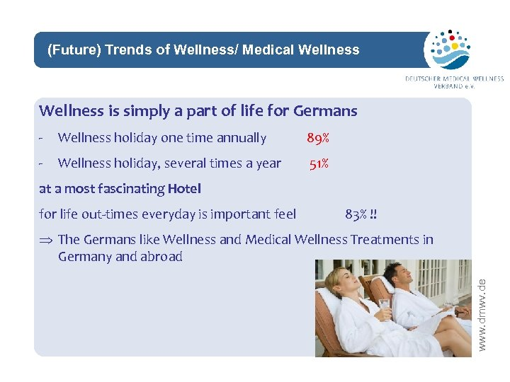 (Future) Trends of Wellness/ Medical Wellness network Wellness is simply a part of life