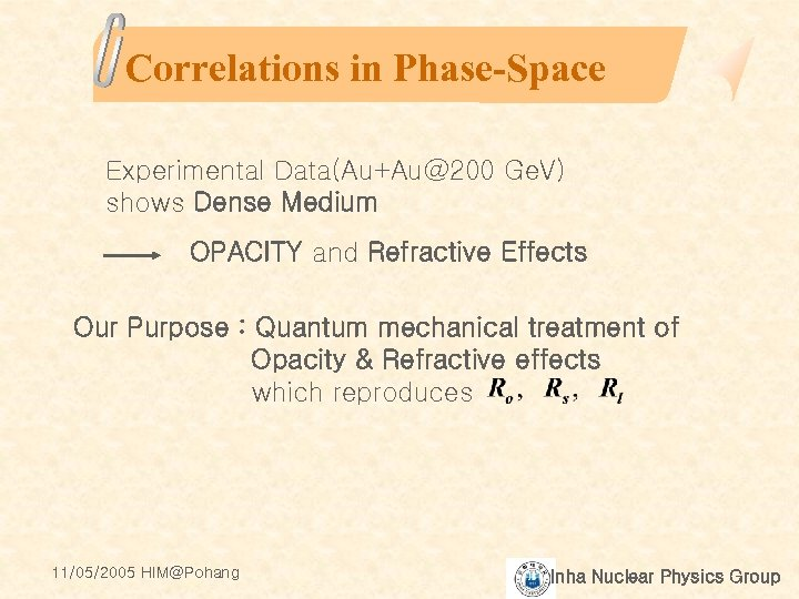 Correlations in Phase-Space Experimental Data(Au+Au@200 Ge. V) shows Dense Medium OPACITY and Refractive Effects